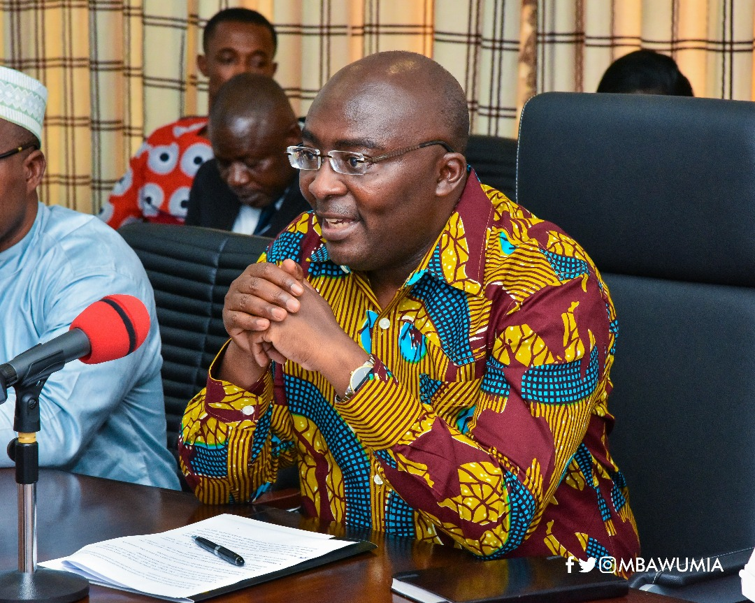 Vice President Mahamudu Bawumia has been at the forefront for the 1V1D project