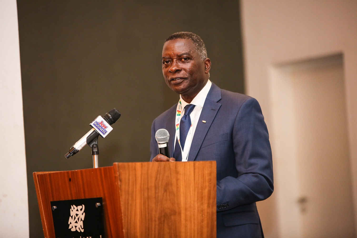 Mr. Edmund Acheampong, Country Manager of Siemens Ghana