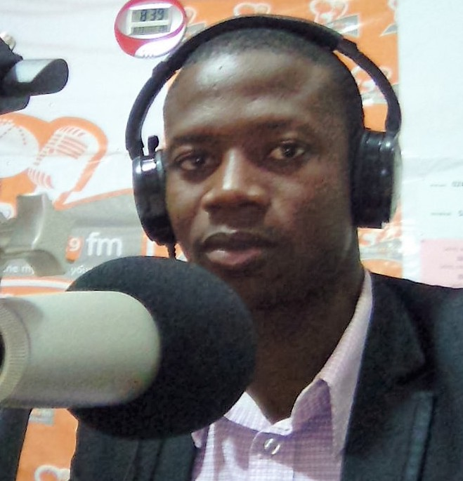 Sunday Casper Kampoli is a member of the NDC communications team in the Upper East Region