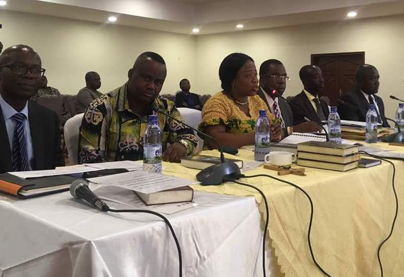 KTU officials before the Public Accounts Committee | Photo: Ibrahim Alhassan