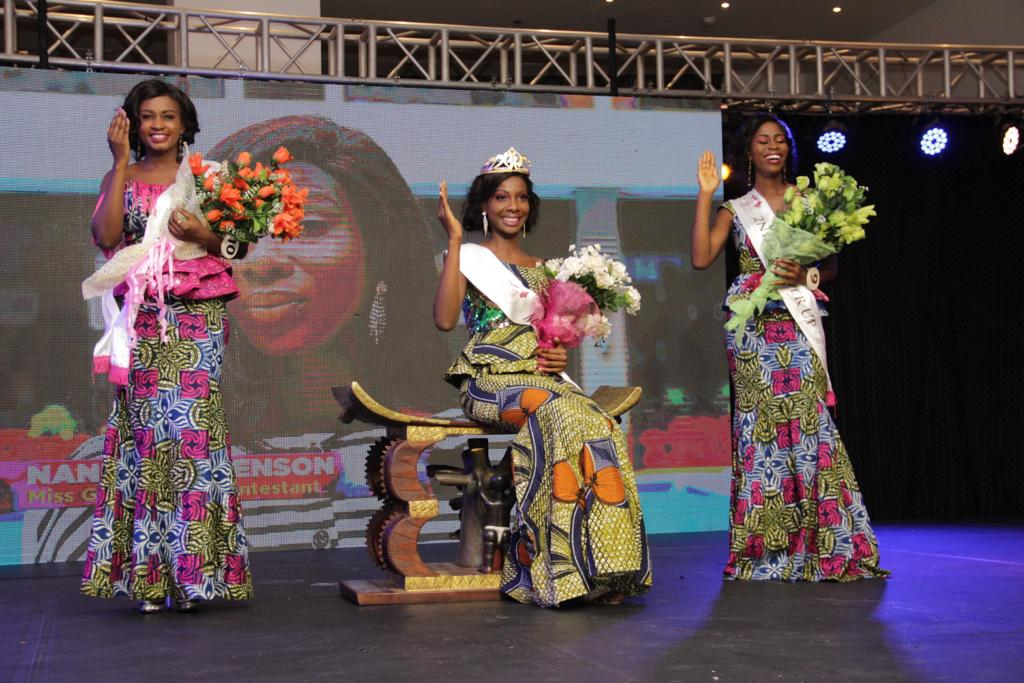 Miss Ghana 2018 and her runners up