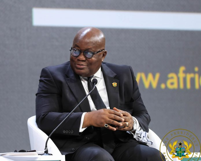 President Akufo-Addo at the Africa Investment Forum