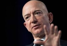Mr Bezos also owns the Washington Post newspaper