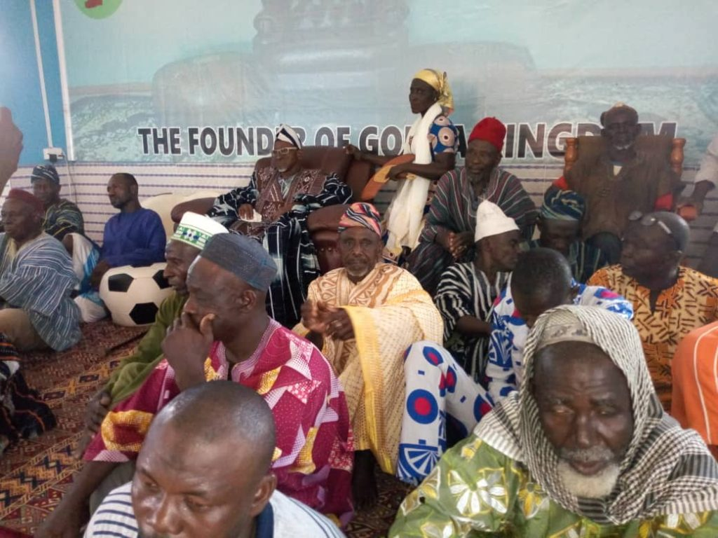 S/R: Paramount chief punished over Salaga violence