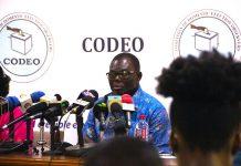 Mr. Albert Arhin, CODEO National Coordinator