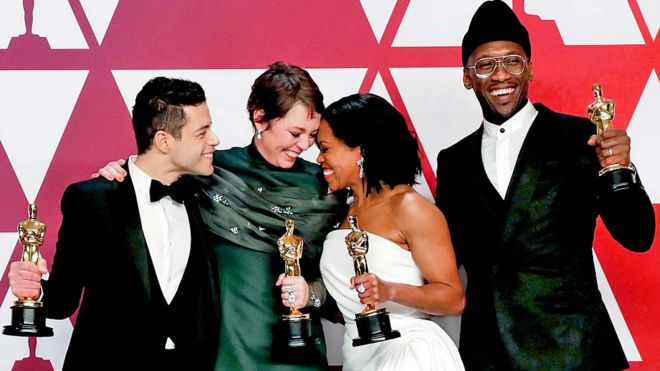 Oscars 2019: Olivia Colman and Green Book spring surprise