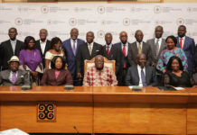 President Akufo-Addo with the Executive Council of CFR, Ghana