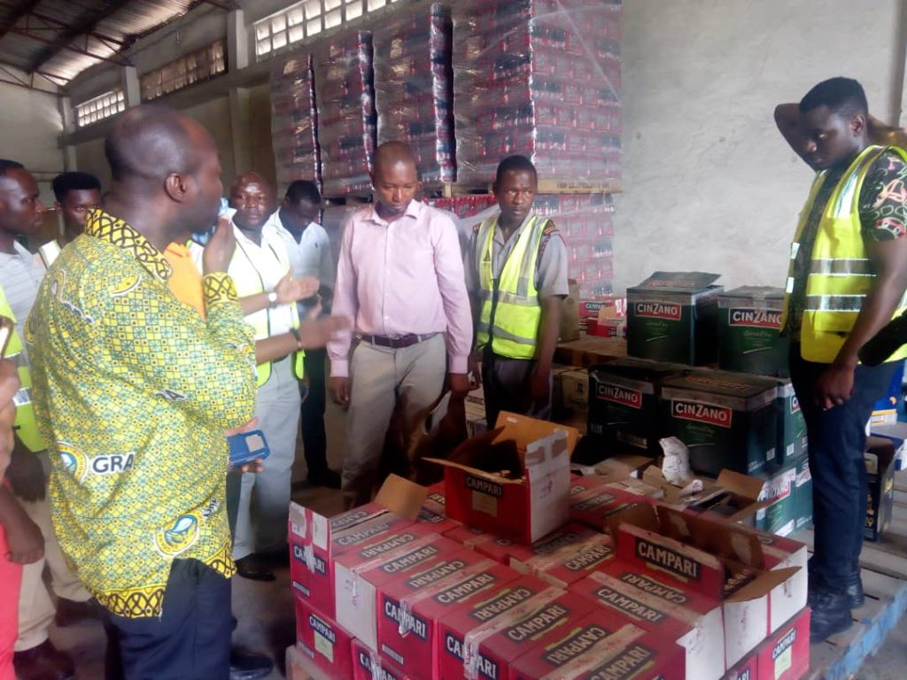 Koforidua: GRA seizes several products without tax stamp