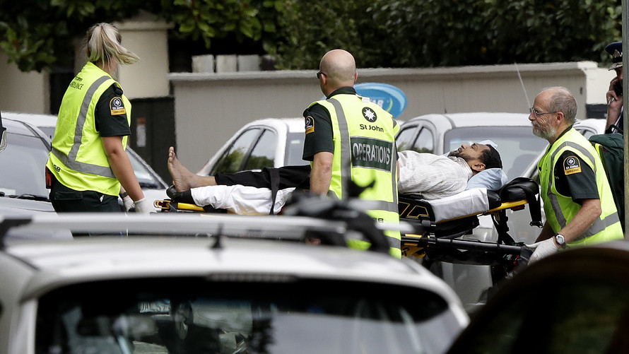 Nz Shooter Detail: Christchurch Mosque Shootings: Forty Dead After New