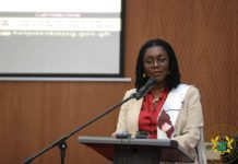 Communications Minister Mrs Ursula Owusu Ekuful
