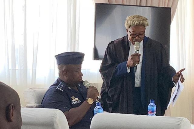 DSP Azugu at the Commission