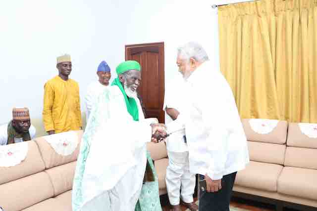 Rawlings and Chief Imam