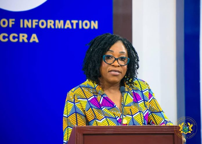 Minister for Foreign Affairs and Regional Integration, Shirley Ayorkor Botchway