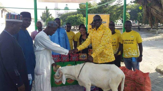 Eid-Ul-Fitr: Kumasi Central Mosque benefits from MTN Ghana