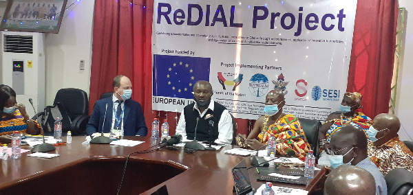 Gov't lauds EU over €2.12m ReDIAL Project