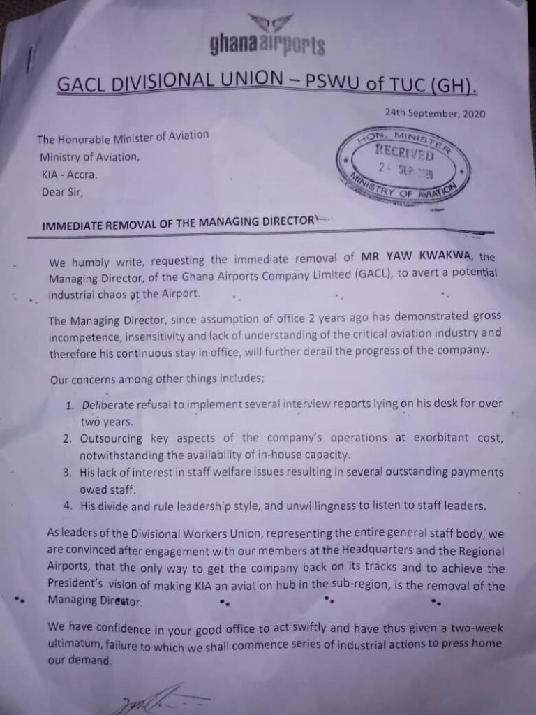 KIA goes red as staff demand MD's dismissal 3