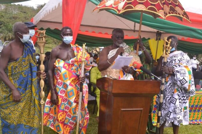 Kwahu: Chiefs commend Mpraeso MP over elevation of district to Municipality