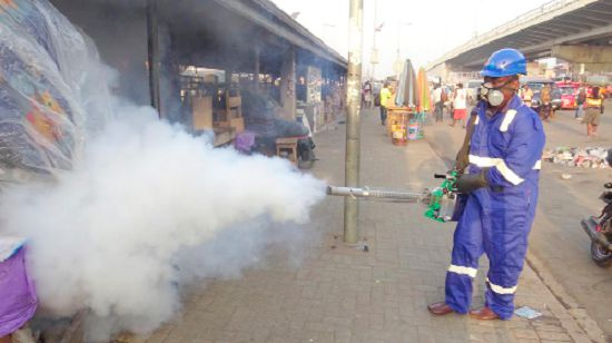 COVID-19: Third phase of market disinfection begins